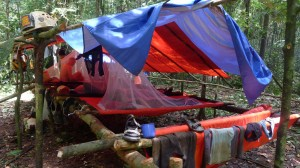forest camp near Deliverance, Mulu